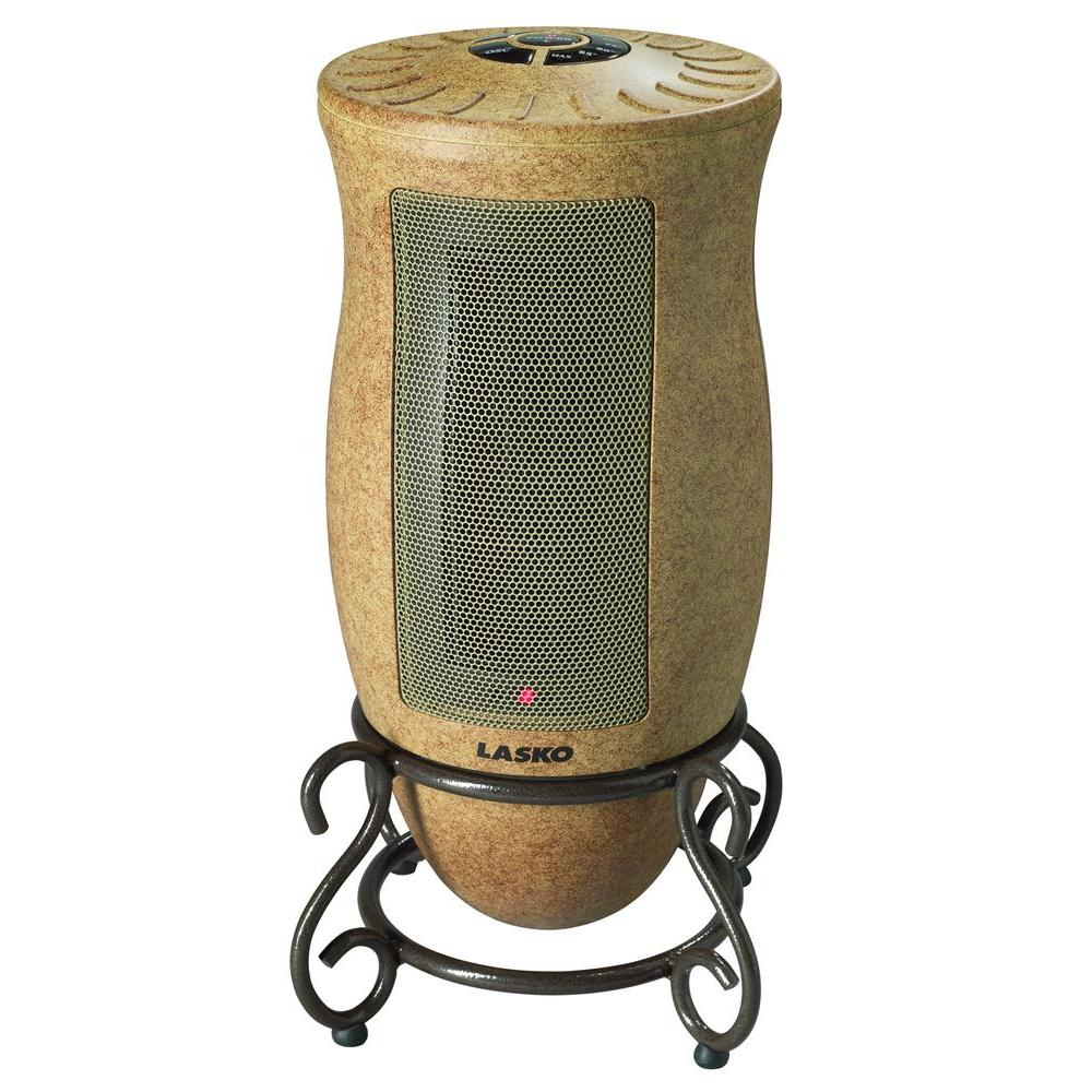 Home Depot Space Heater Designer Series 1500 Watt Ceramic Electric Portable Heater