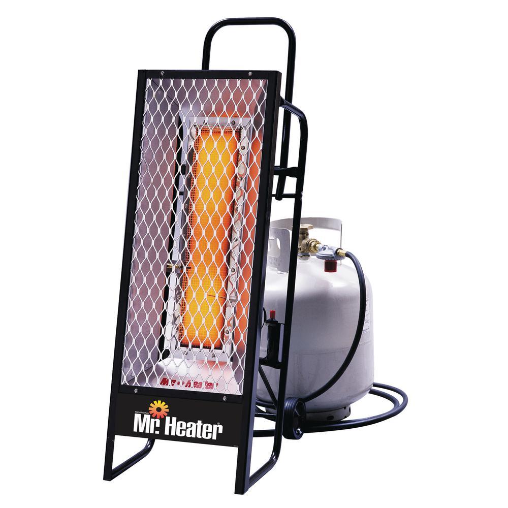 35000 Btu Radiant Lp Portable Heater Mh35lp The Home Depot
