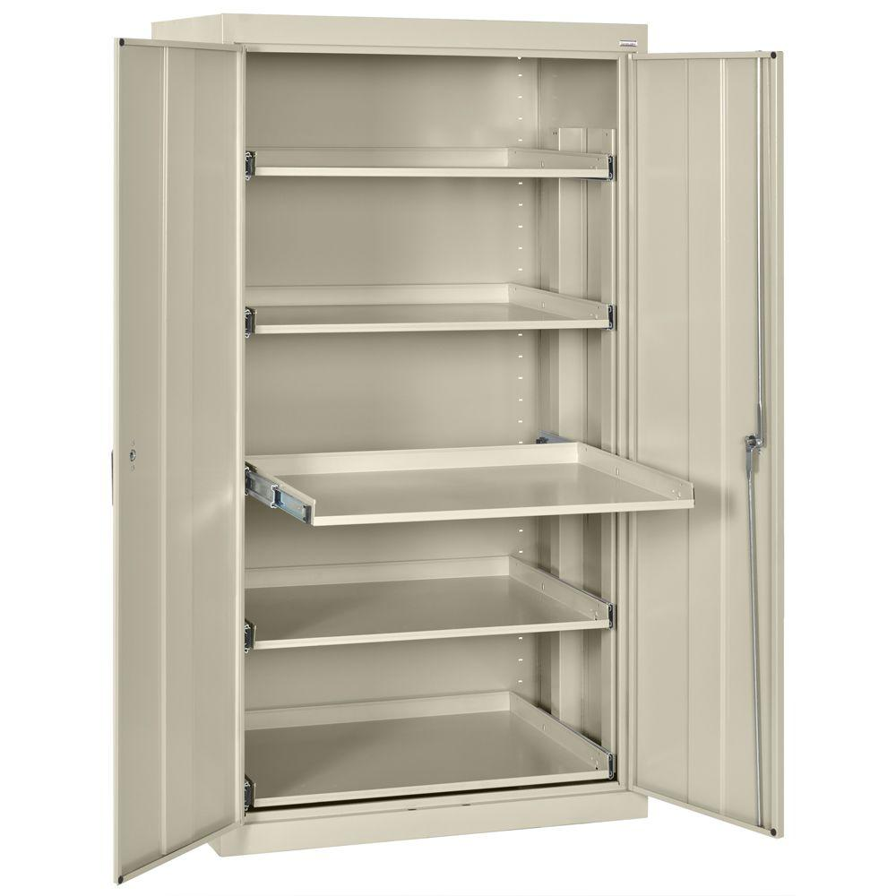 66 In H X 36 In W X 24 In D 5 Shelf Heavy Duty Steel