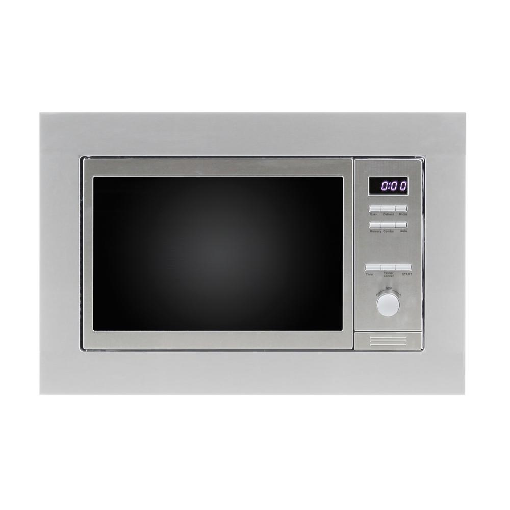 Combination Microwave Oven 8 Cu Ft Built In Combination Microwave Oven In Stainless With Auto Cook And Memory Function