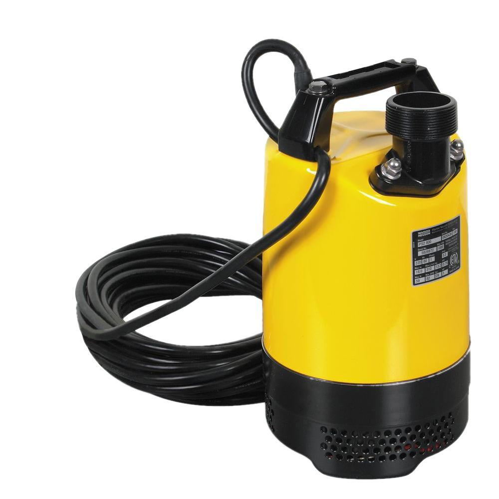 Pump Water Wacker 1 Hp 2 In Electric Submersible Utility Pump