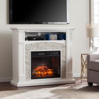 Southern Enterprises Conway 45.75 in. W Infrared Electric ...