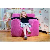 Kids Small Foam Chair with Pink Plush Cover-PKPLUSHSM ...