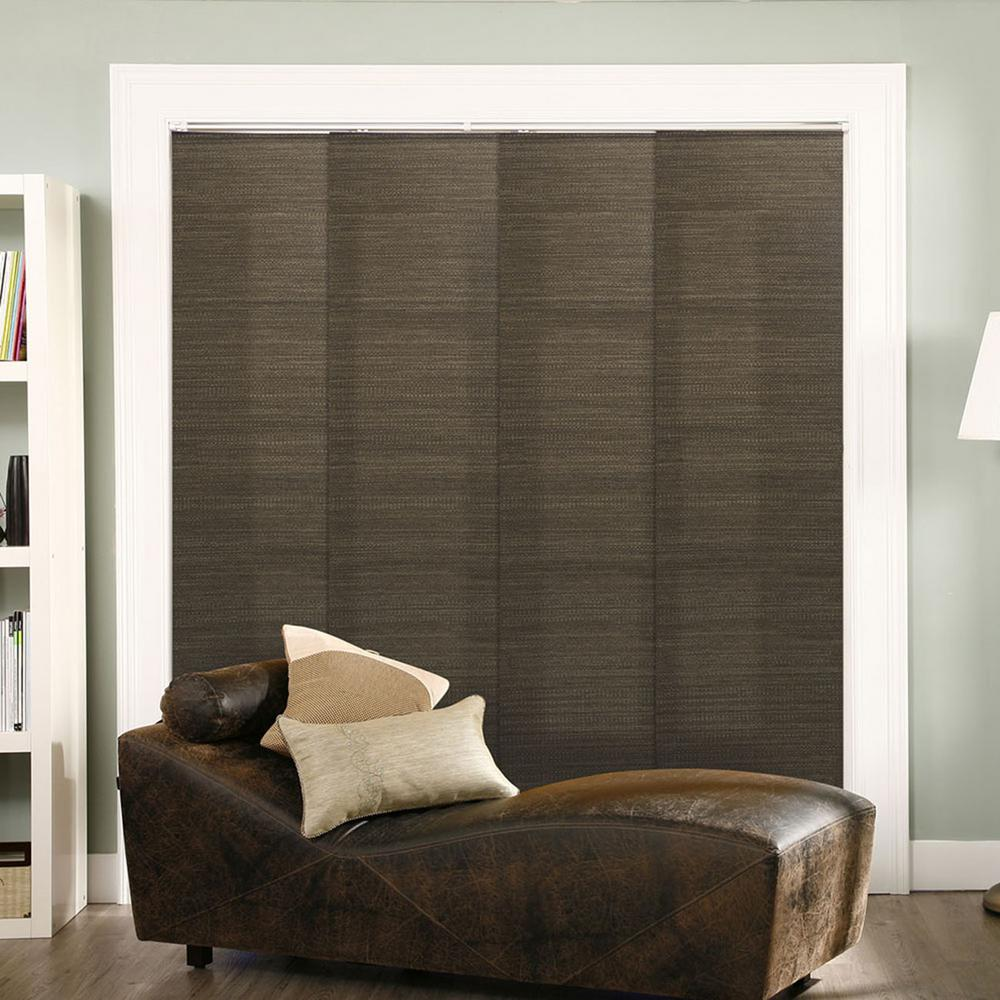 Peaceably Ology Panel Track Blinds French Oolong Polyester Cordless Verticalblinds W X Ology Panel Track Blinds French Oolong Polyester Cordless Panel Track Blinds Ireland Panel Track Blinds Lowes houzz-02 Panel Track Blinds