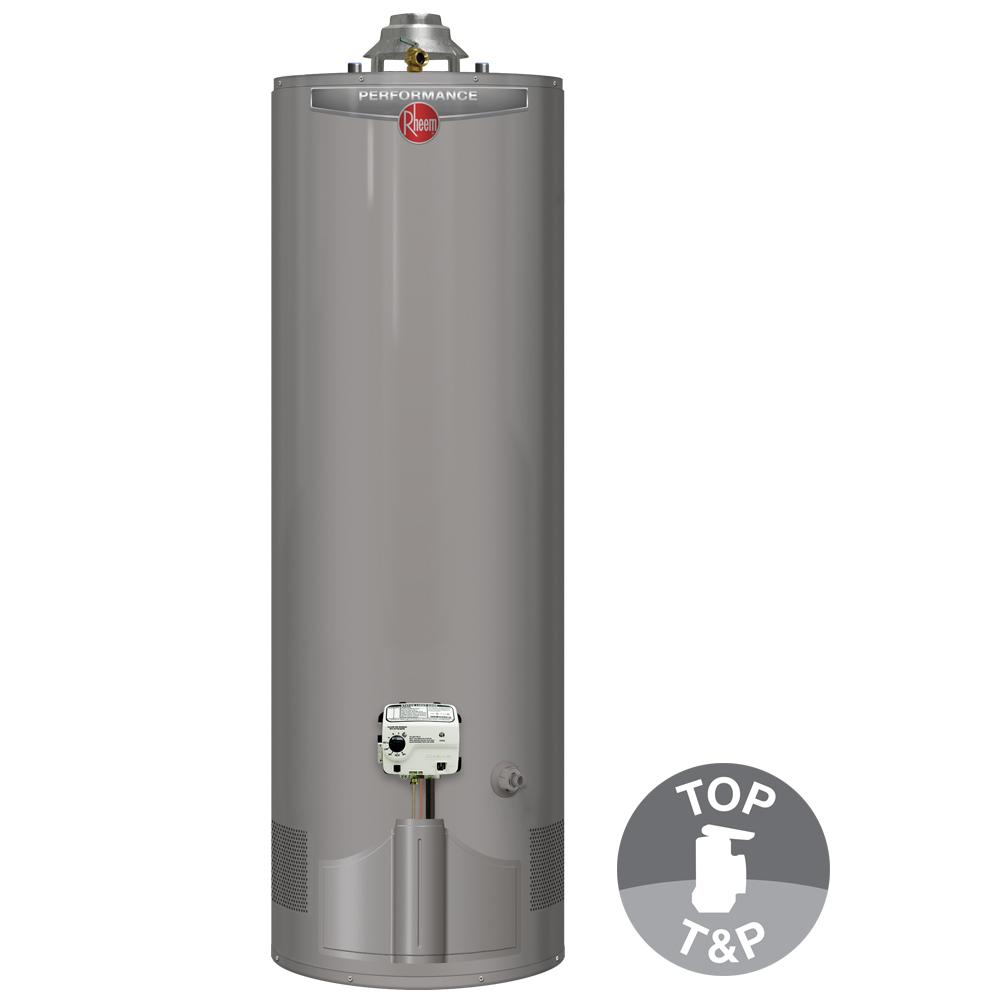 Chauffe Eau Rheem Rheem Natural Gas Water Heaters Residential Gas Water Heaters