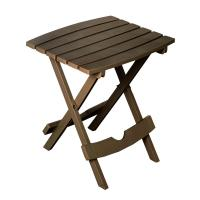 Suncast Elements Resin Outdoor Side Table With Storage ...