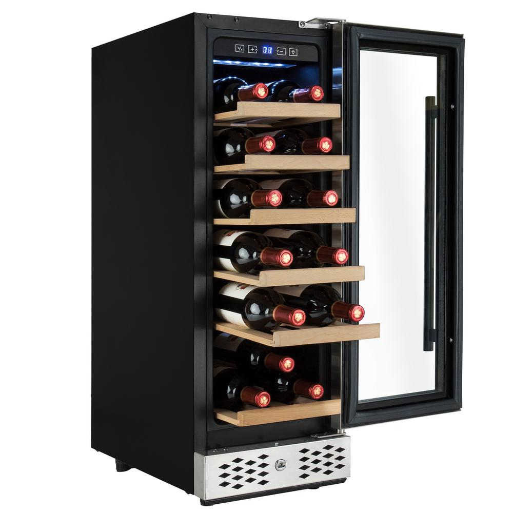 Artevino Wine Cellar Black Spt The Home Depot