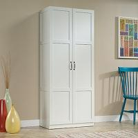 Sauder Woodworking White Cabinet-419636 - The Home Depot