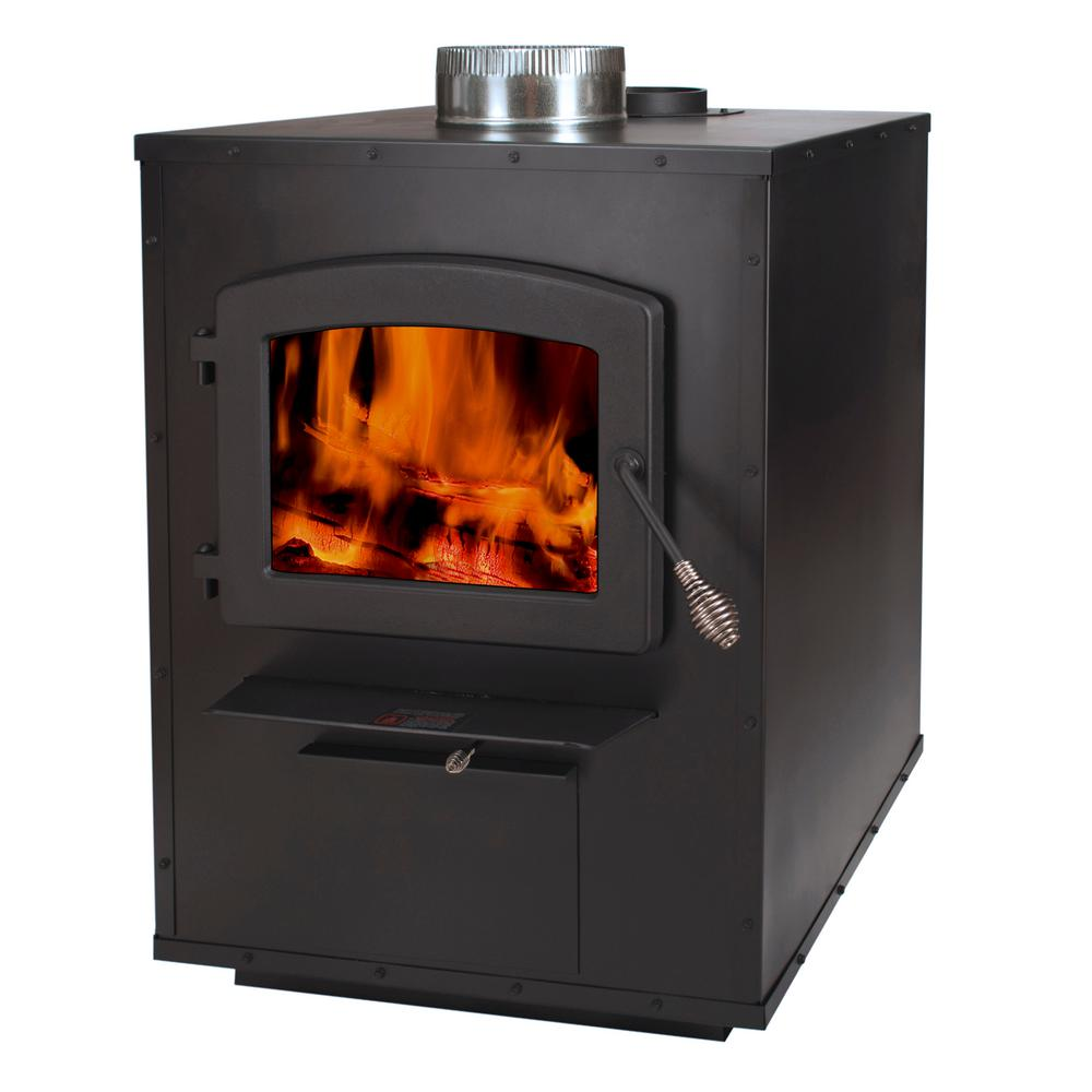 Fireplace Propane Heater 3 000 Sq Ft Wood Burning Add On Furnace