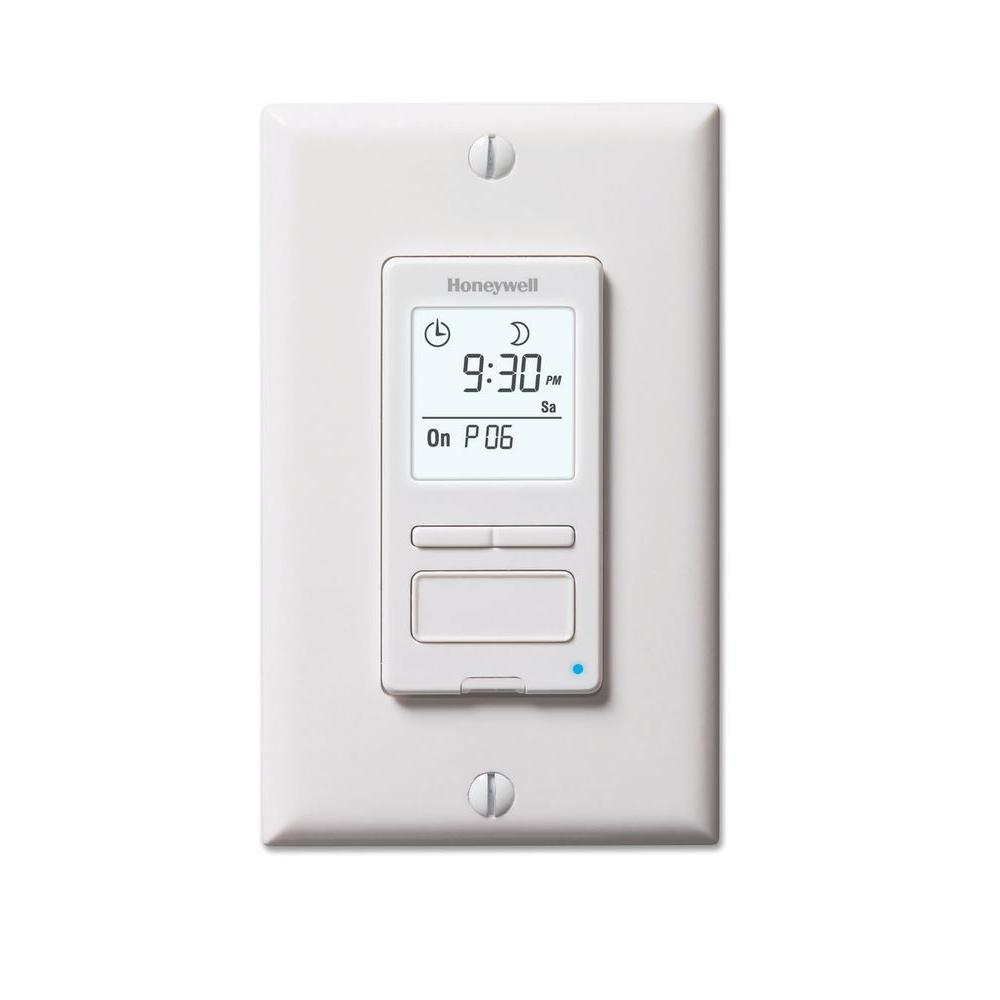 Home Hardware Varennes Econoswitch 120 Volt 7 Day Program In Wall Solar Digital Timer Switch