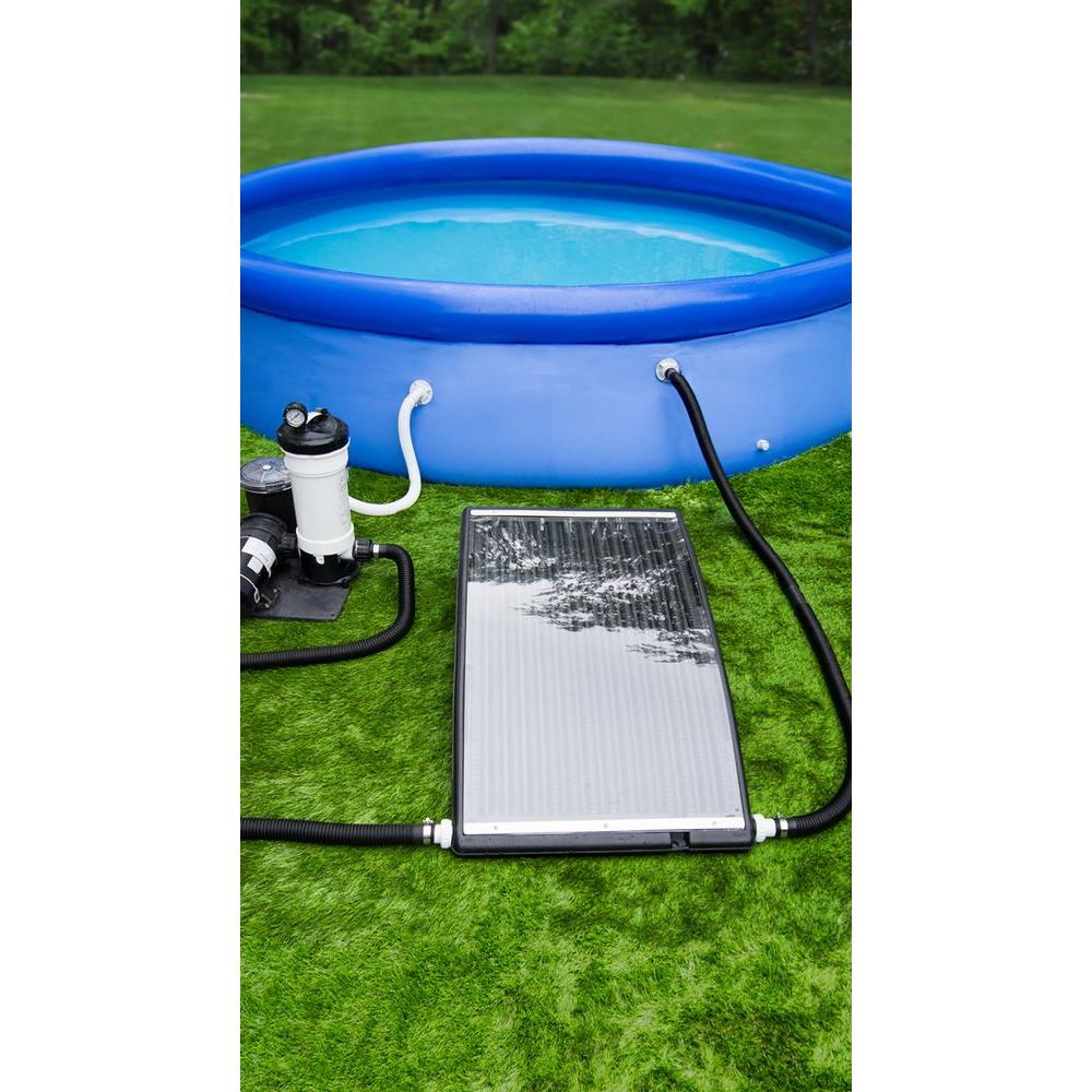 Poolmaster Slim Line Above Ground Swimming Solar Pool
