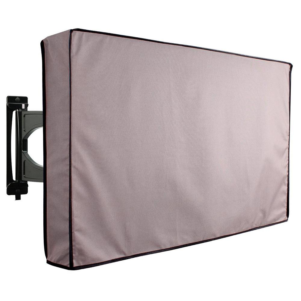 Outdoor Covers Khomo Gear Grey Outdoor Universal Tv Cover Protector For 46 In To 48 In Tv