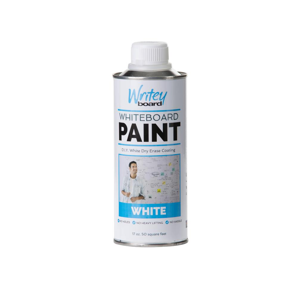 Turn A Wall Into A Whiteboard 50 Sq Ft White Gloss Whiteboard Paint Kit
