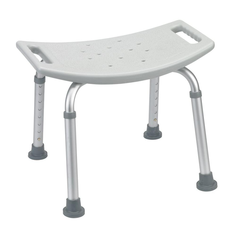 Stool Chair Drive Grey Bathroom Safety Shower Tub Bench Chair