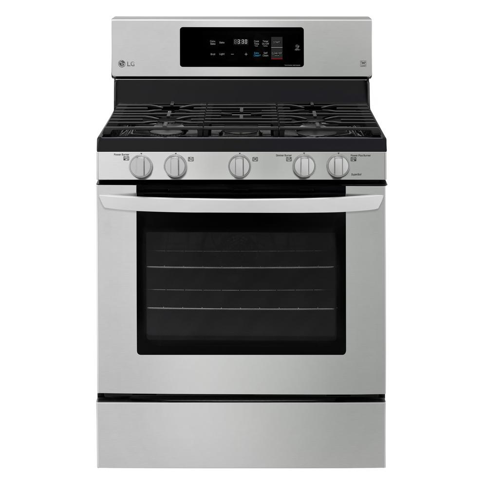 Lg Electronics 5 4 Cu Ft Gas Range With Self Cleaning In - Electric Stove Price