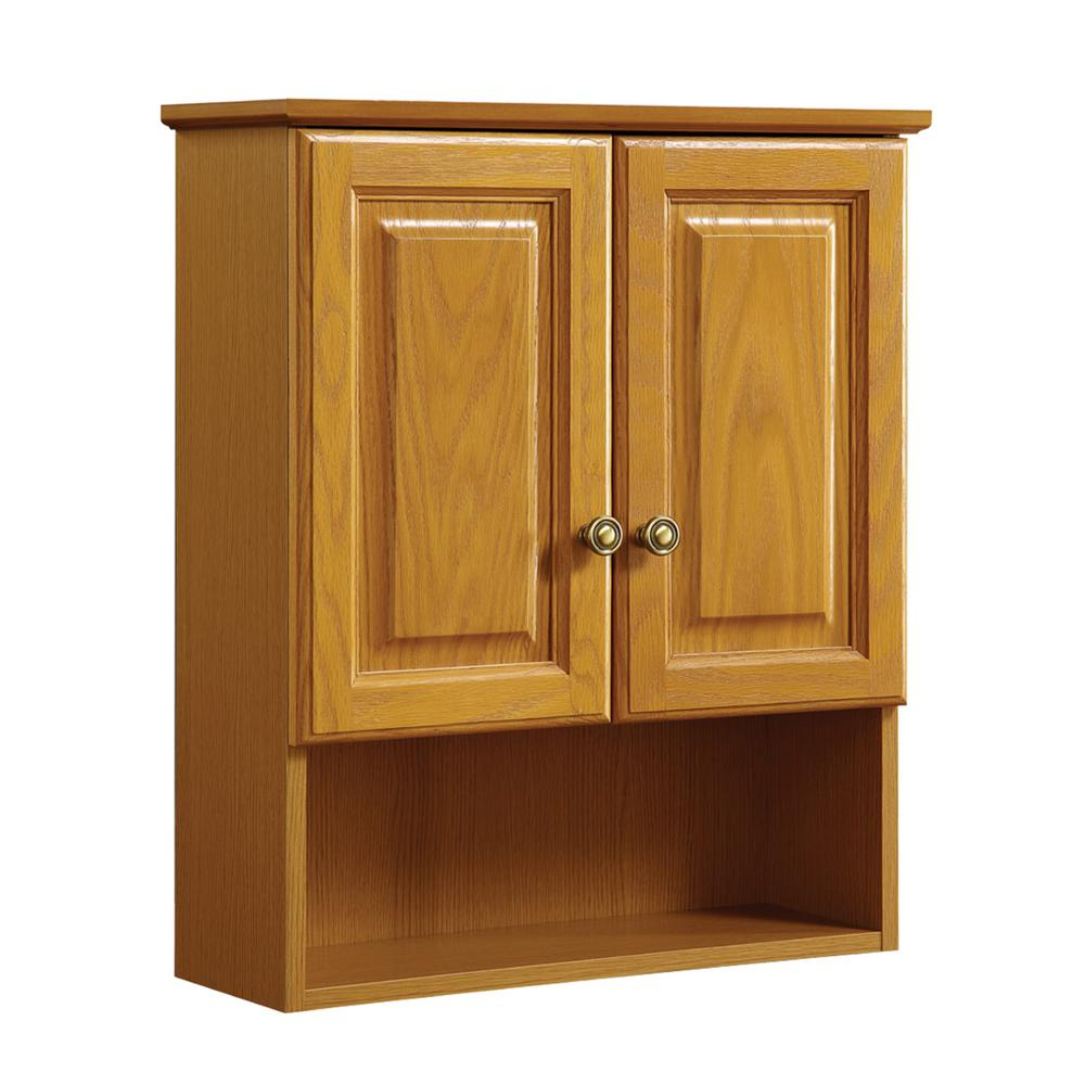 Solid Wood Wall Cabinet Bathroom