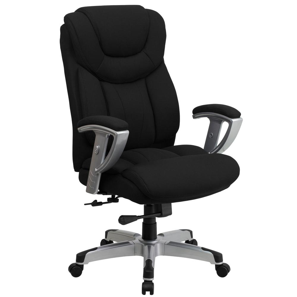 Chairs Comfortable Flash Furniture Black Fabric Office Desk Chair