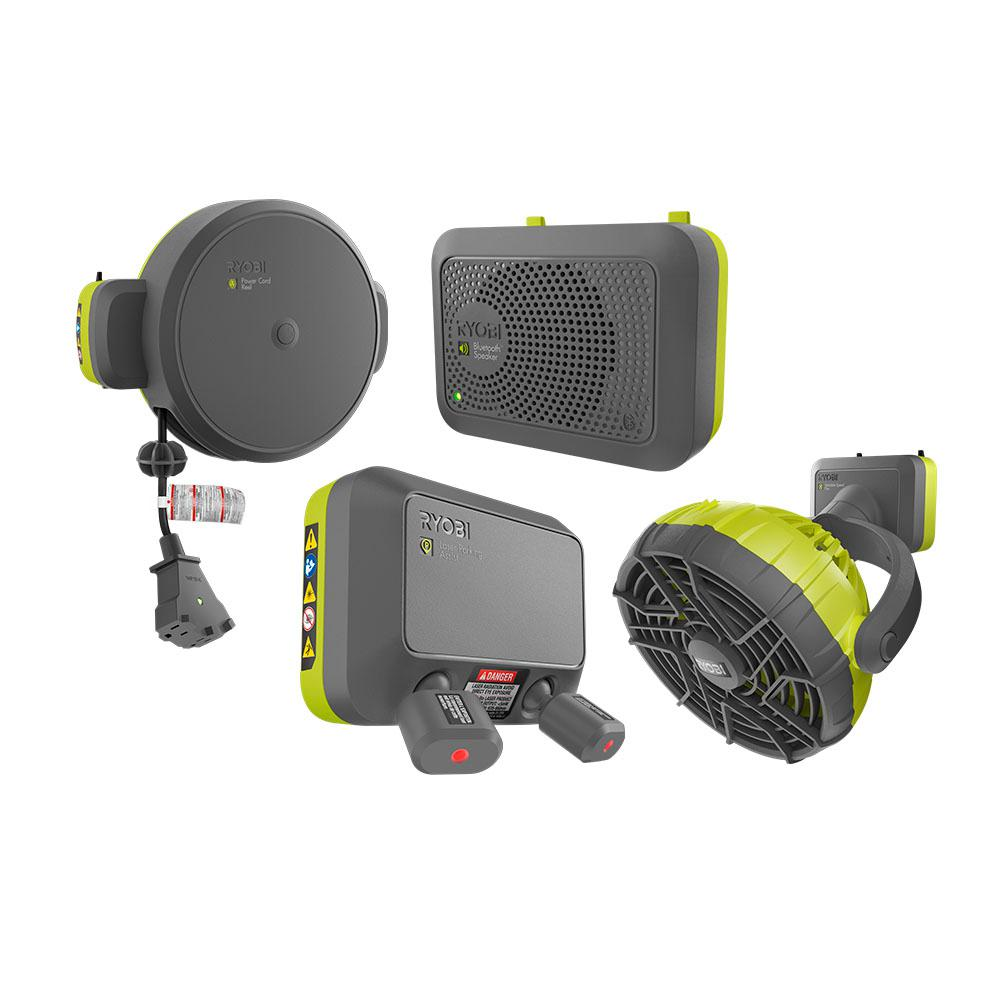 Ryobi Garage Door Fan Ryobi Garage Door Opener Accessory Bundle