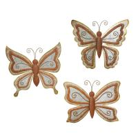 Metal Butterfly Wall Art - ideasplataforma.com