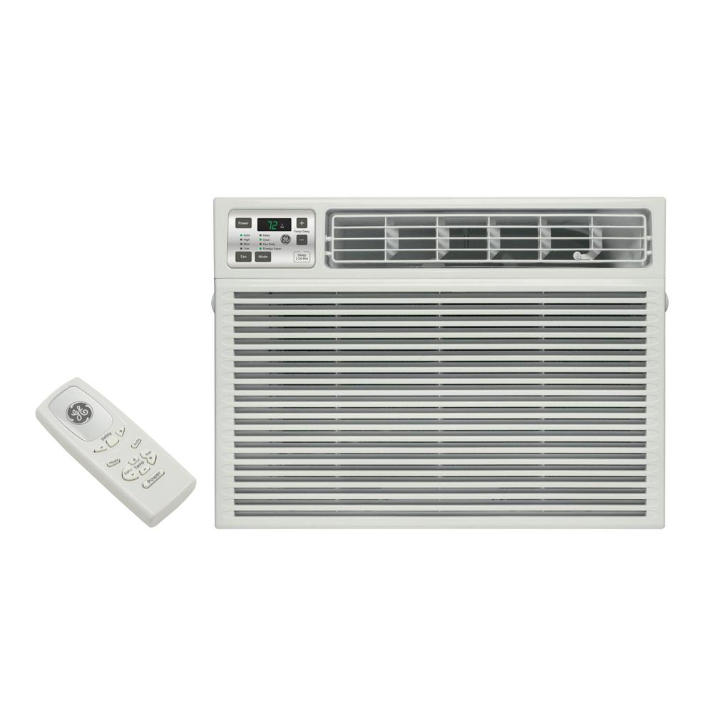 Heat Air Ge 115 Volt Electronic Heat Cool Room Window Air Conditioner