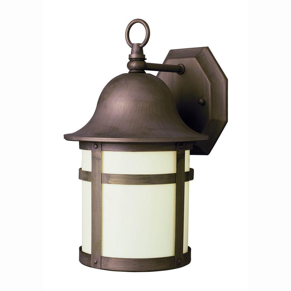 Bel Air Lighting Energy Saving 1 Light Outdoor Weathered