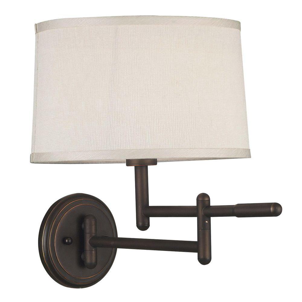 Swing Wall Lamp Kenroy Home Theta Copper Bronze Wall Swing Arm Lamp