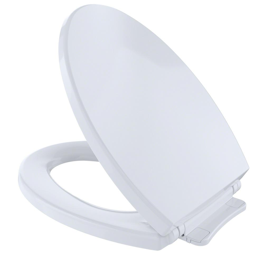Toilet Seat Toto Softclose Elongated Closed Front Toilet Seat In