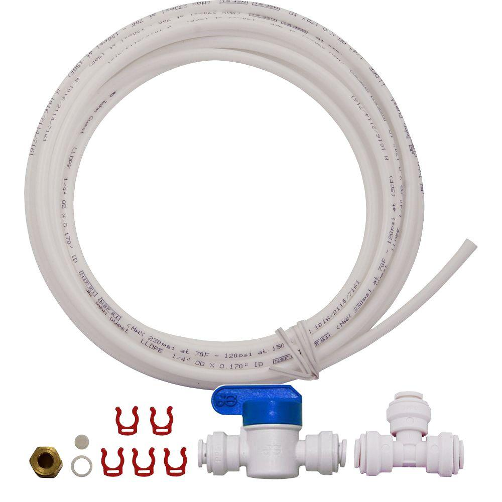 Reverse Osmosis Drinking Water System Apec Water Systems Ice Maker Kit For Standard 1 4