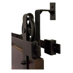 Pleasing Barn Door Kits Hook Strap Black Rolling Barn Door Hardware Kit Wheel Hook Strap Black Rolling Barn Door Hardware Kit With Cabinets Bathrooms Barn Door Kits