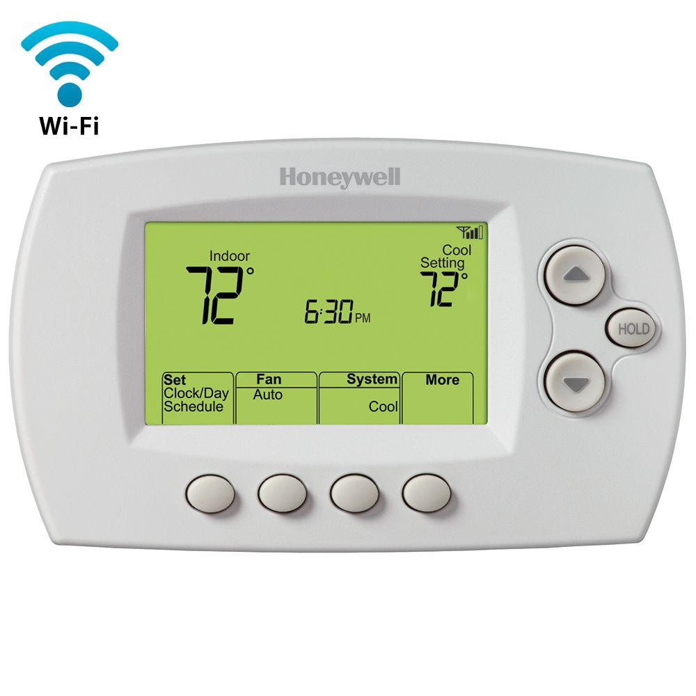 Honeywell Programmable Thermostat Honeywell Wi Fi 7 Day Programmable Thermostat Free App
