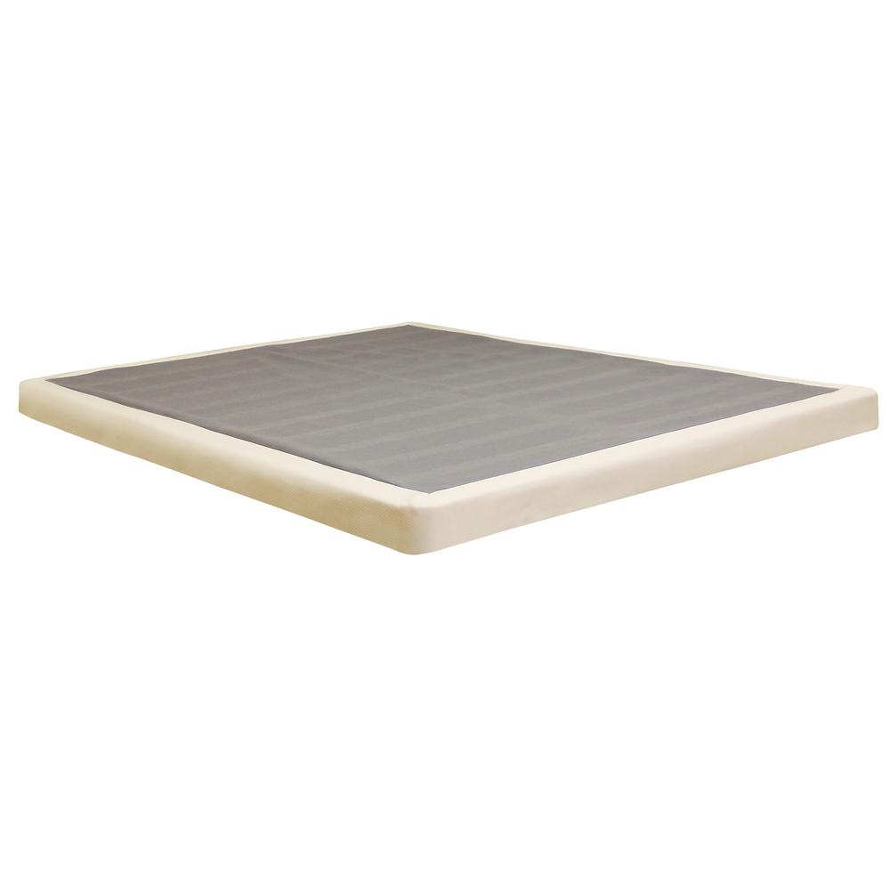 Box Spring Instant Foundation Instant Foundation King Size 4 In H Low Profile Mattress Foundation