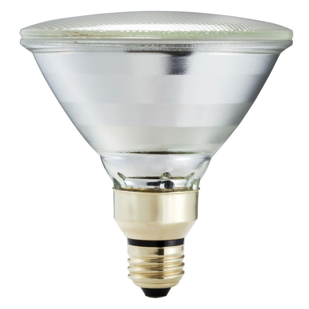 Halogen Spotlight Bulbs Philips 70 Watt Equivalent Halogen Par38 Indoor Outdoor Long Life Spotlight Bulb