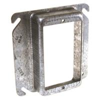 4 in. Square Single Device Mud Ring, Raised 1-1/4 in.-8775 ...