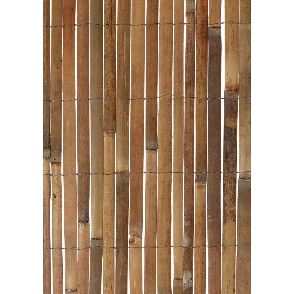 Bamboo Fence Canada Gardman 13 Ft W X 0393 In D X 5 Ft H Fencing And Screening