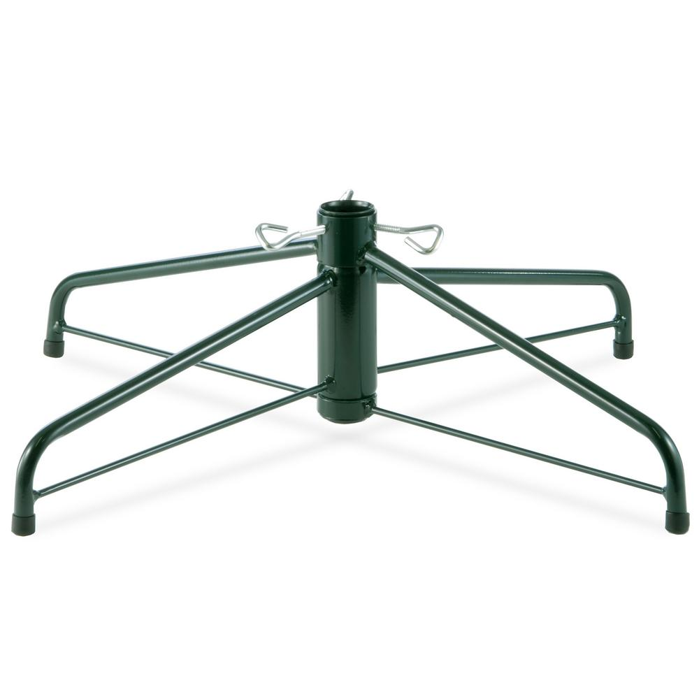 How To Make Your Own Tree Stand 28 In Folding Metal Tree Stand For 7 1 2 Ft To 8 Ft Trees With 1 25 In Pole