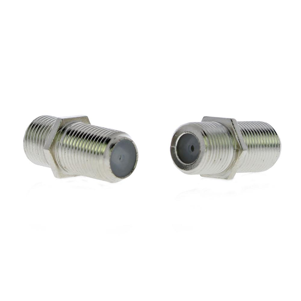 Coaxial Cable Ideal F Series Coaxial Cable Female Adapters 2 Pack