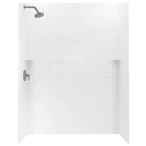 Medium Of White Subway Tile Shower
