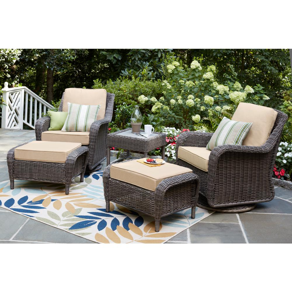 Habitat Outside Sofa Cambridge Grey Collection Outdoors The Home Depot