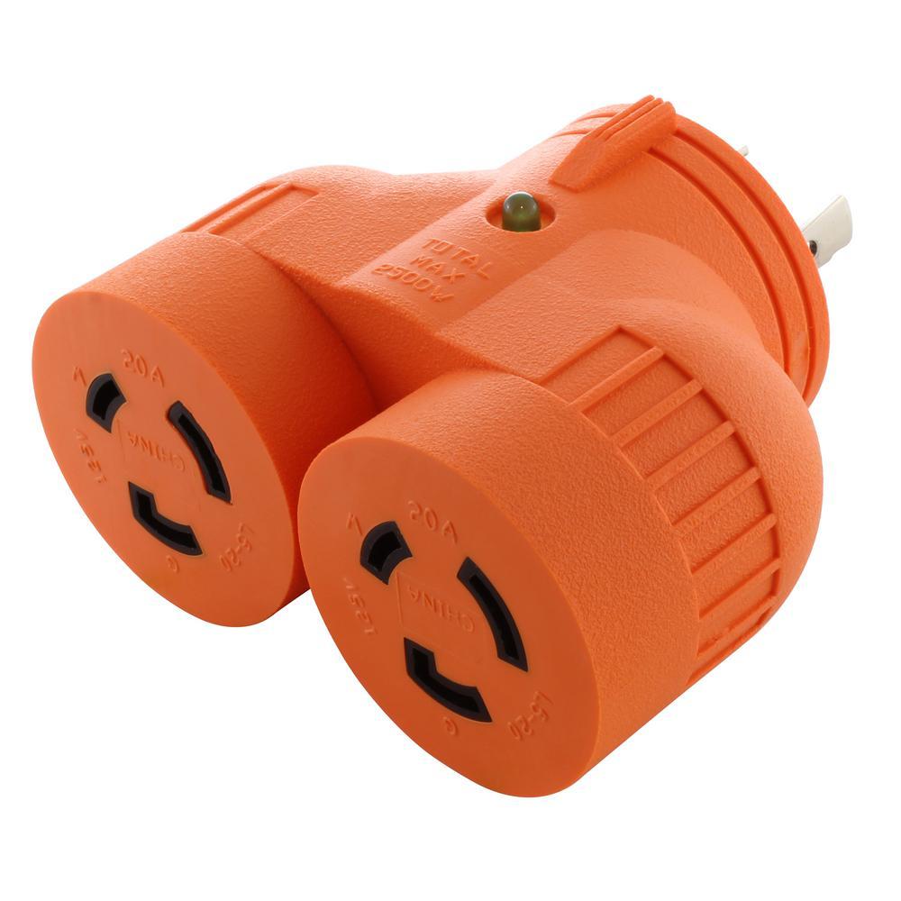 Indicator Light - 20 amp - Plug Adapters - Wiring Devices  Light