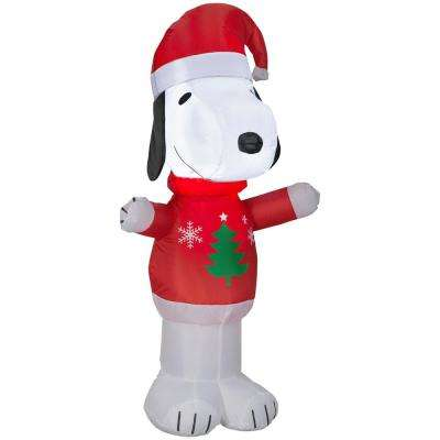 Peanuts - Christmas Inflatables - Outdoor Christmas Decorations