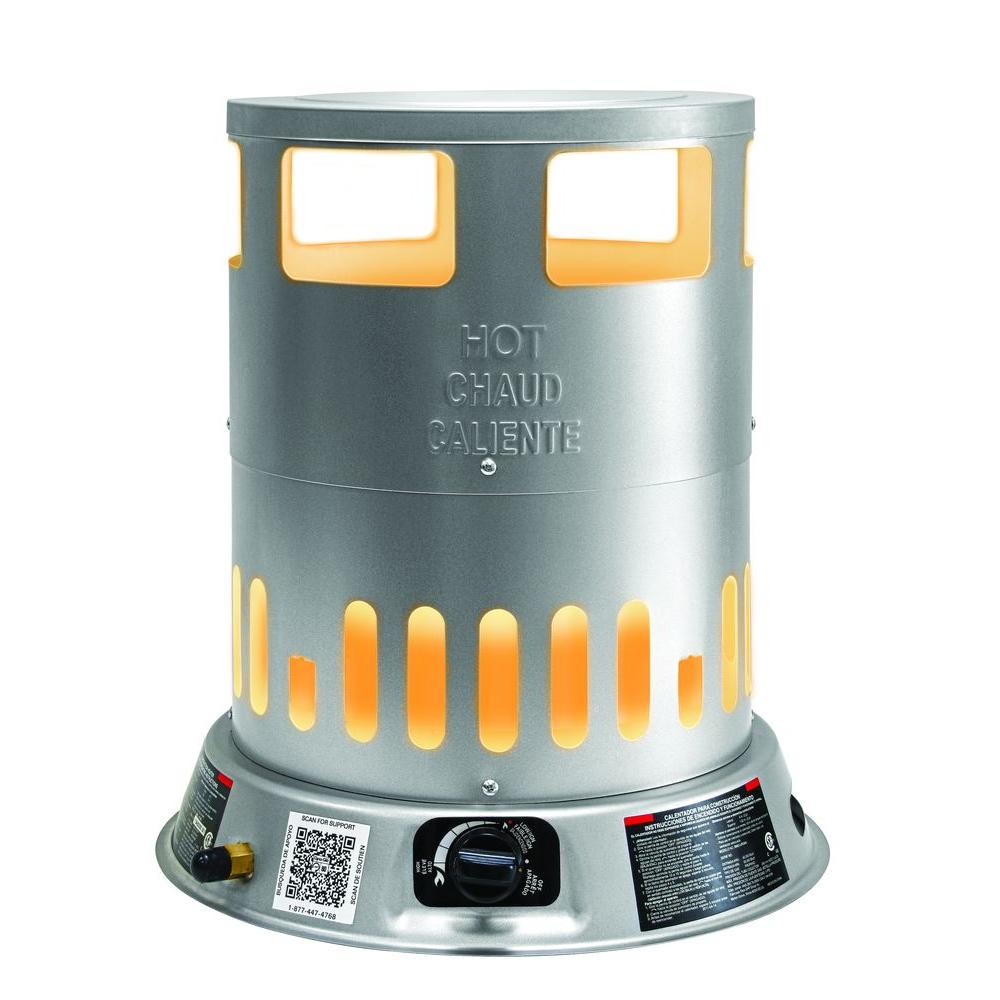 Home Depot Space Heater Dyna Glo 50k 80k Btu Convection Propane Tower Portable Heater