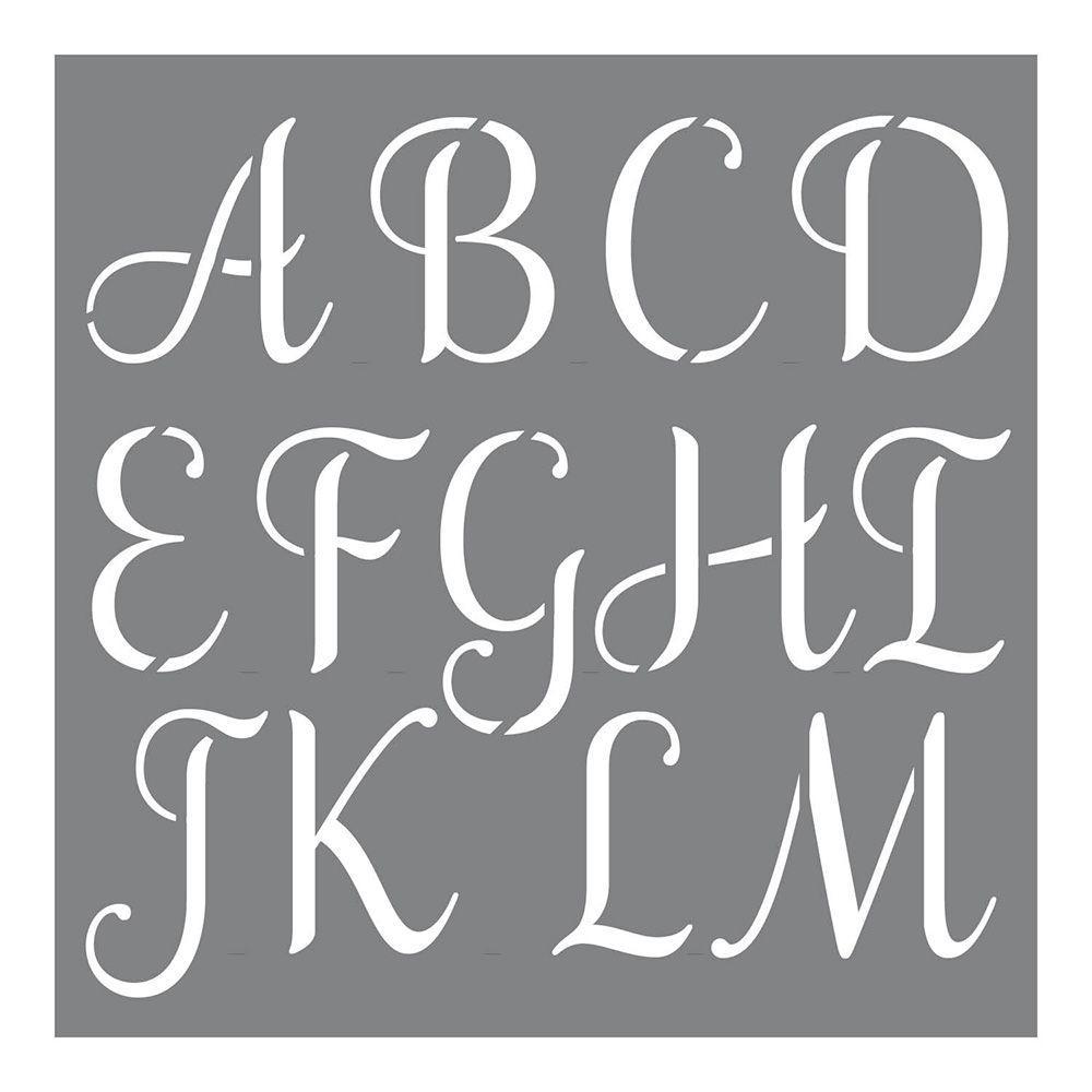 Letters  Alphabets - Stencils - Craft  Art Supplies - The Home Depot