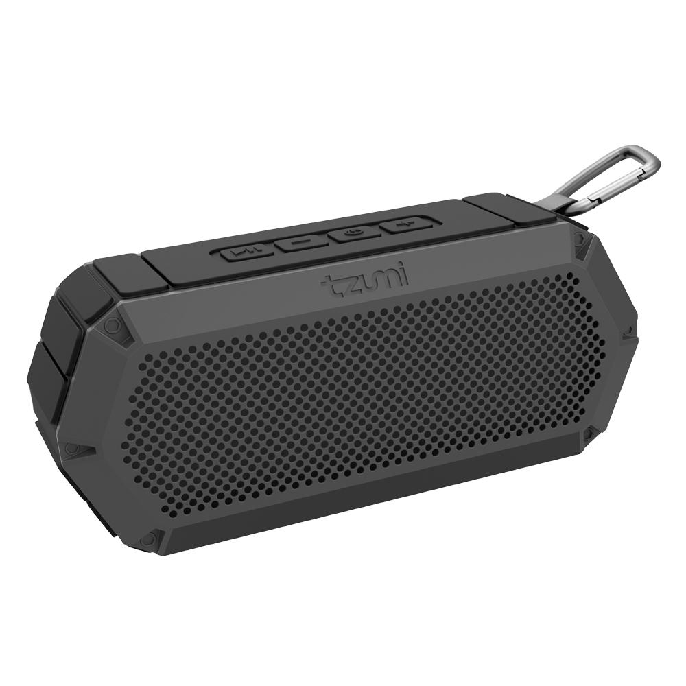 Box Bluetooth Tzumi Bluetooth Waterproof Outdoor Speaker