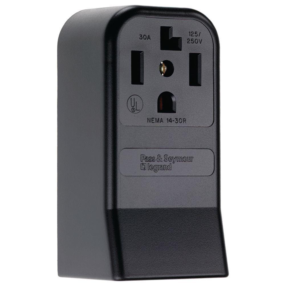 Pass Amp Seymour Usb Port Wiring Diagram Auto Electrical Leviton 30a Flush Mount Power Outlet 51