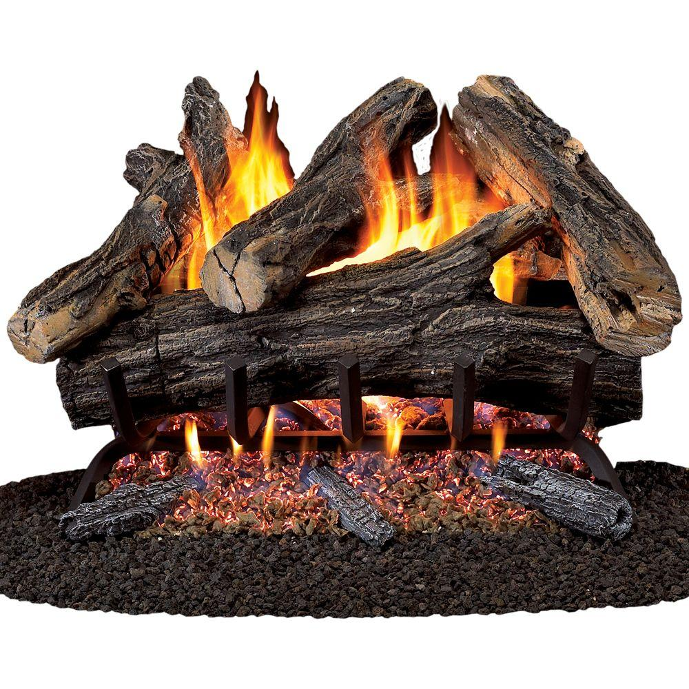 Direct Vent Gas Fireplace Ratings Procom 24 In Vented Natural Gas Fireplace Log Set
