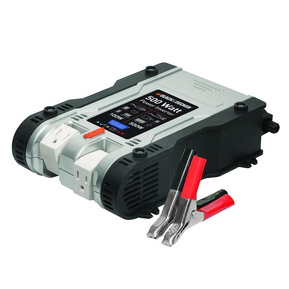 500 Watt Black Decker 500 Watt Power Inverter