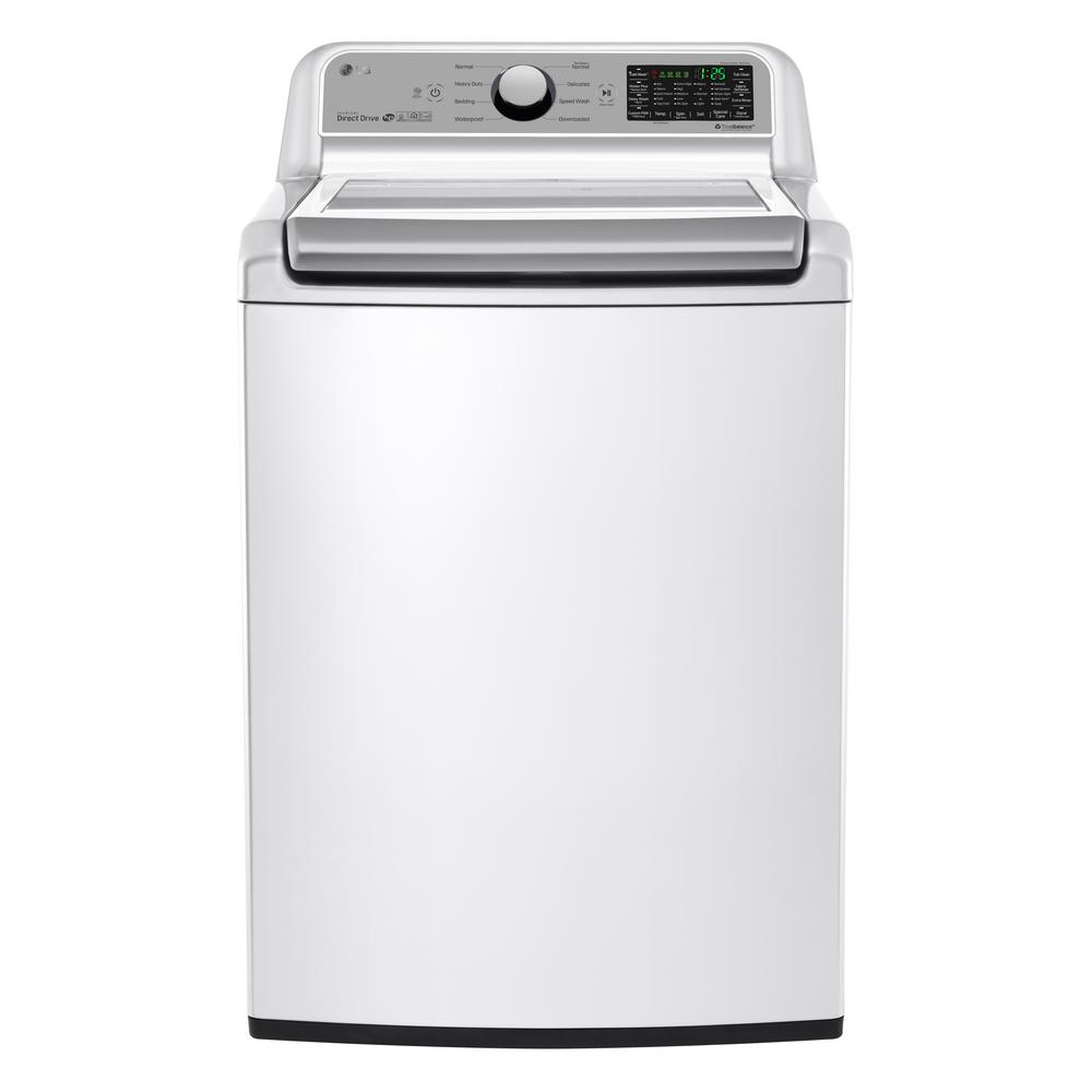 Lg Washing Machine 5 Cu Ft Top Load Washer In White Energy Star 48231020275 Ebay - Top Loading Washers