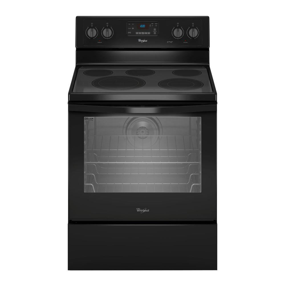 Oven Whirlpool Whirlpool 6.4 Cu. Ft. Electric Range With Self-cleaning
