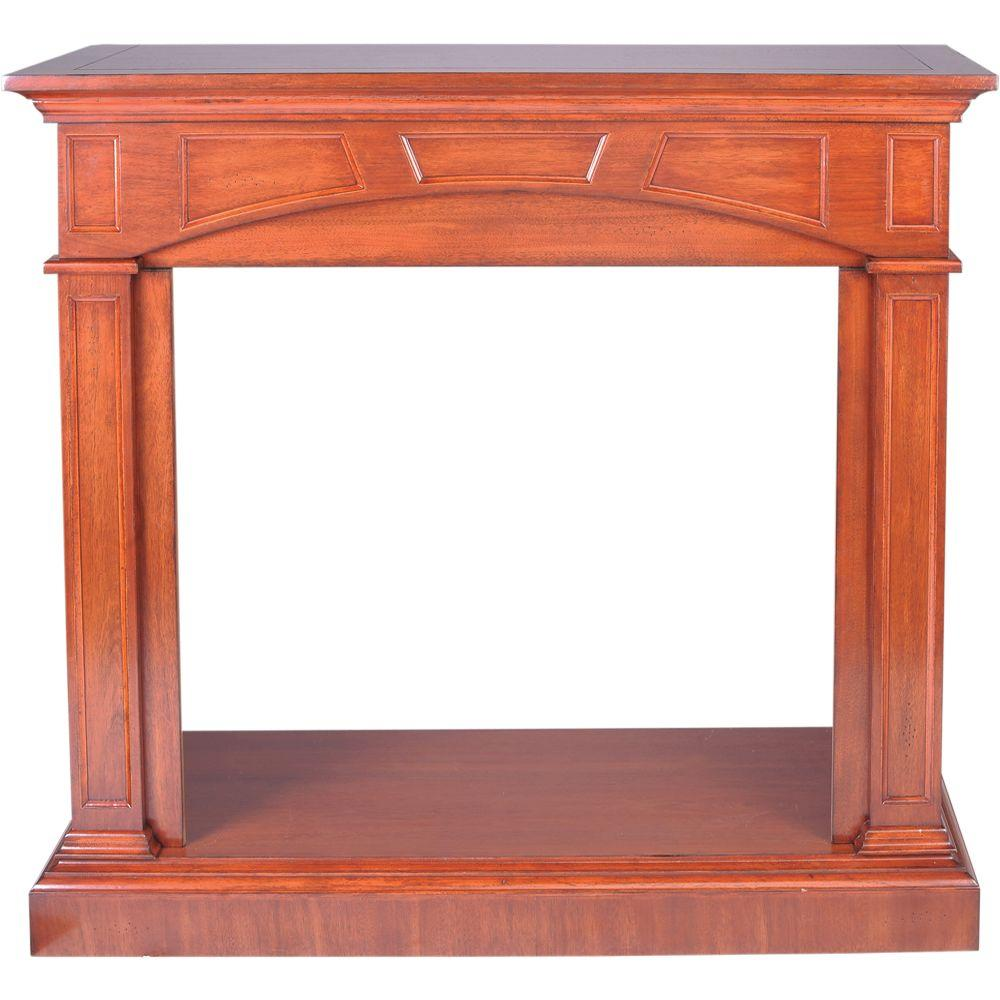 Cherry Fireplace Mantels Procom 46 81 In Vent Free Mantel Fireplace In Heritage Cherry