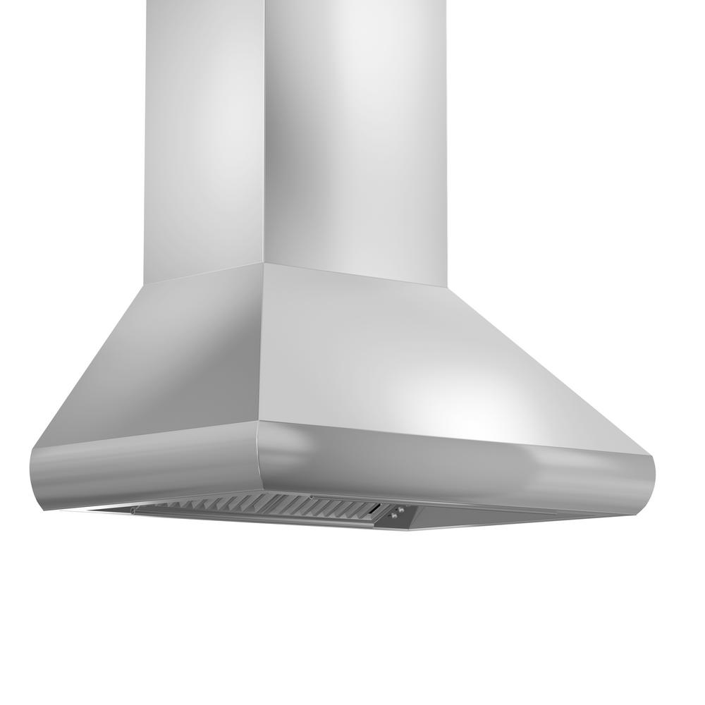 900 Rangehood Zline Kitchen And Bath Zline 36 In 900 Cfm Wall Mount Range Hood In Stainless Steel With Remote Single Blower